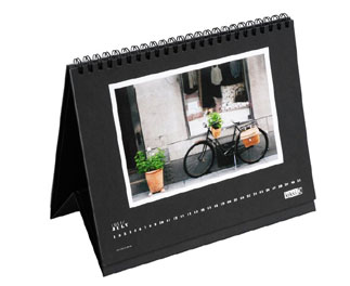 Custom Photo Desk Calendar