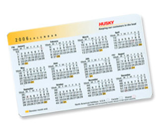 Pocket Calender Cards