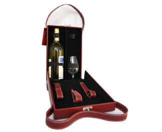Leather Wine Box-7