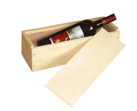 Single Wine box with Slide door