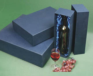 Elegant Paper Wine Carry Box