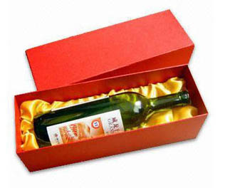 Elegant Paper Wine Box