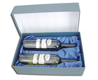 Twin Paper Wine Box